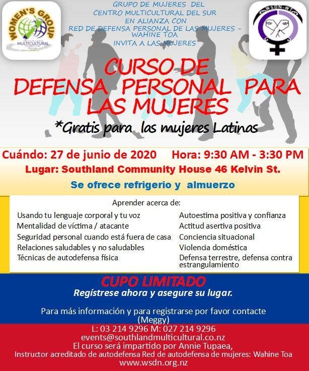 Translated Spanis Women's Self Defence Colombians
